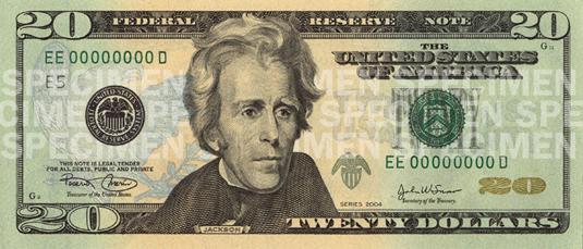 Купюра номиналом 50 долларов