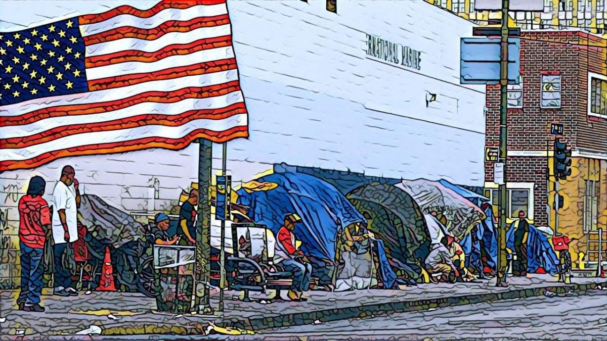 бездомные в кризис 2008 года