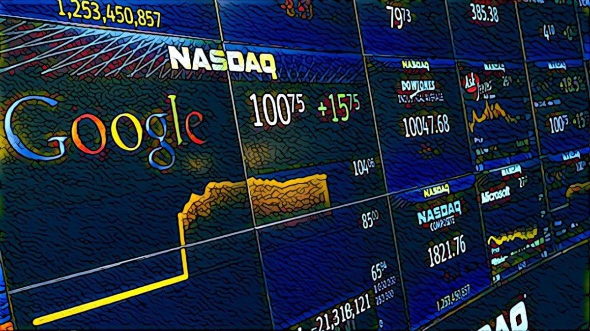 Торговля акциями google