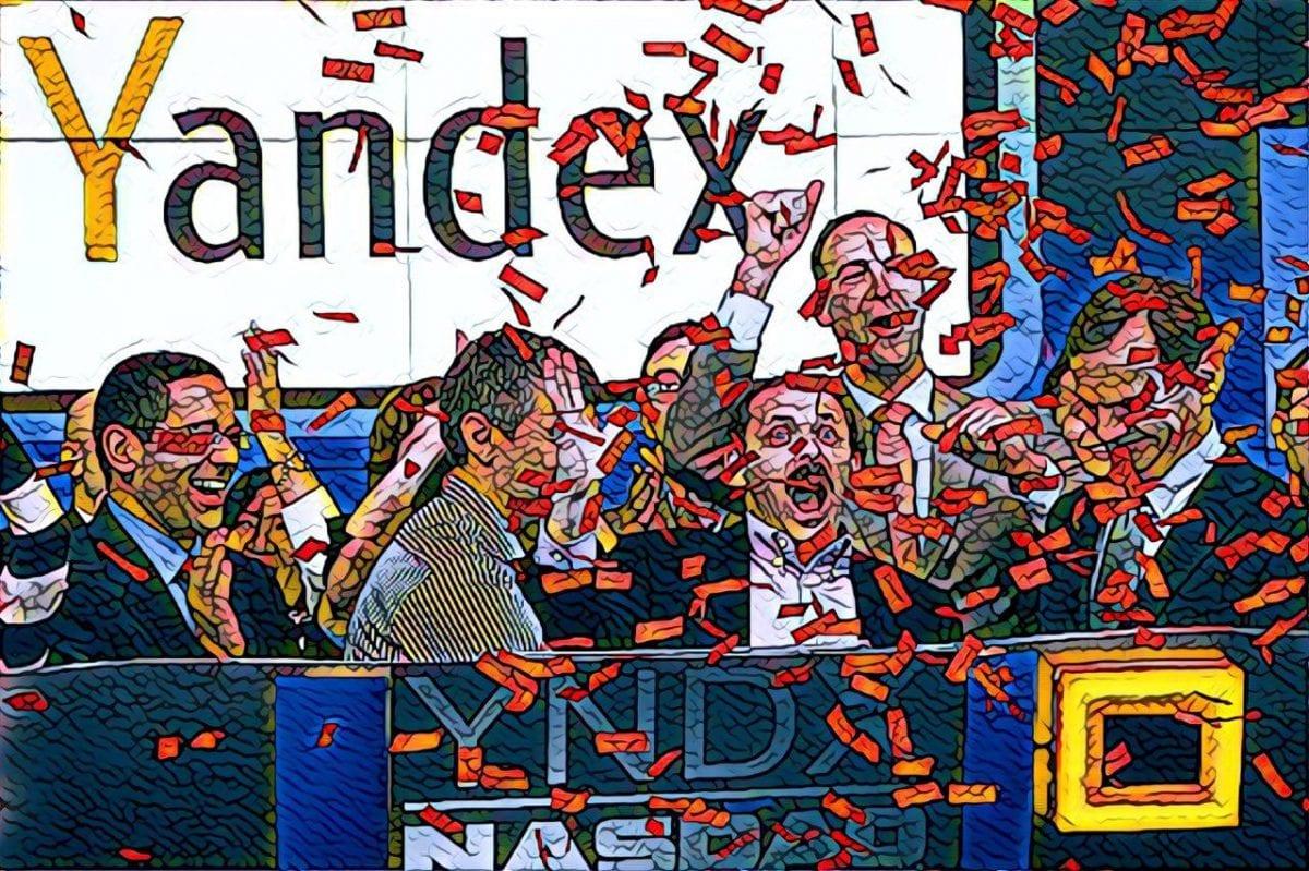 акции яндекс на наздак