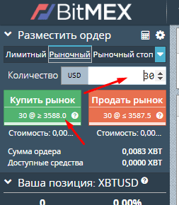Начало торговли BitMEX